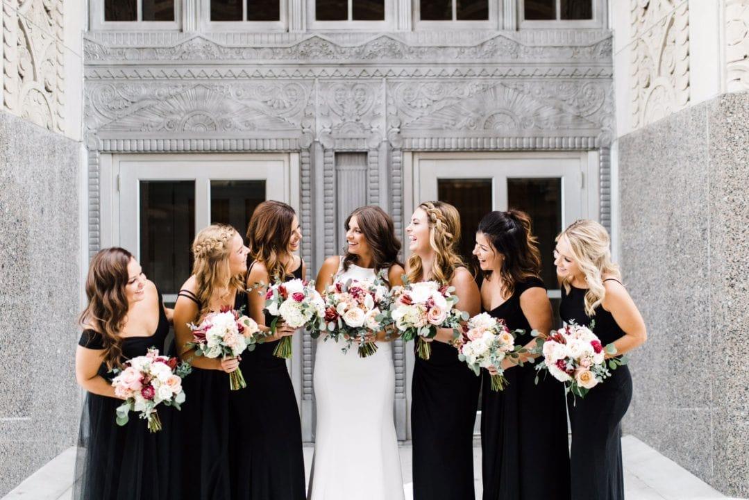 Image for Real Belle Vogue Bride – Kate + Sam