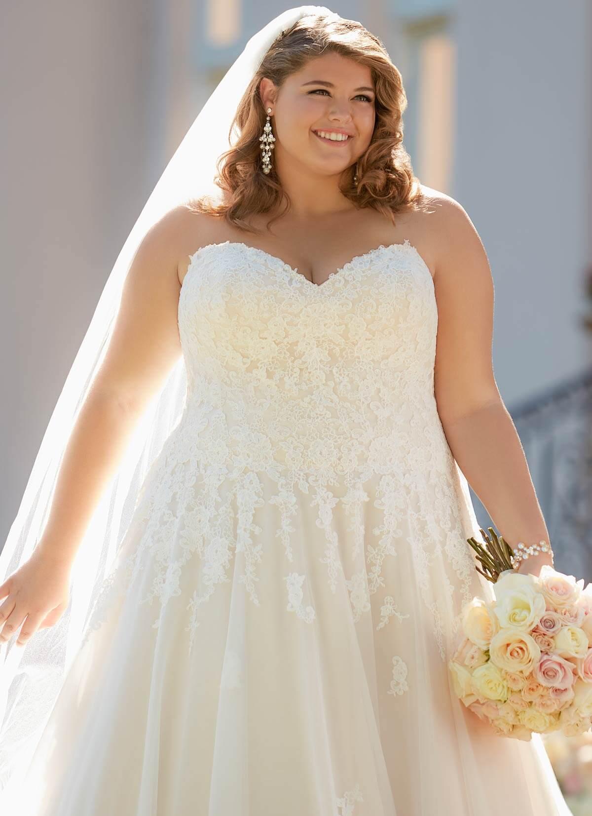 76e744620f7 Plus-Size Wedding Dresses in Kansas City