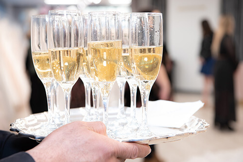 Belle Vogue Bridal Champagne Glasses - Kansas City