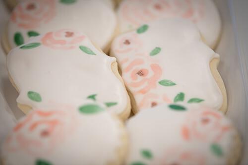 Belle Vogue Bridal Grand Opening Cookies - Kansas City