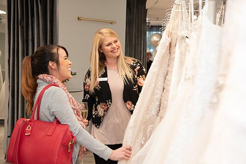 Belle Vogue Bridal Grand Opening Guests - Kansas City