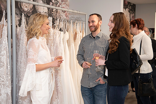 Belle Vogue Bridal Grand Opening Party - Kansas City